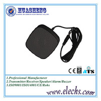New design black color square shape mp3 mini sound box speaker