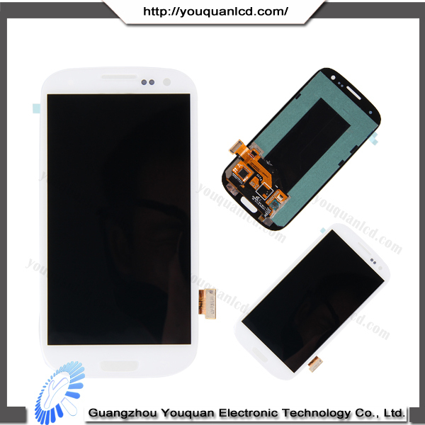 Original Wholesale spare part for samsung galaxy s3 i9300 lcd display
