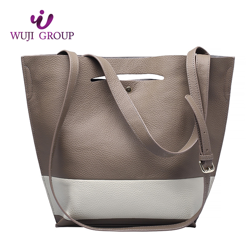 Factory Direct Sales All Kinds Of Top Grain Leather Women College Shoulder Bag