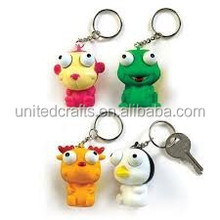 Wholesale Pop Out Eyes Doll Stress Relief Venting Squeeze Toy Random Style Key Chain