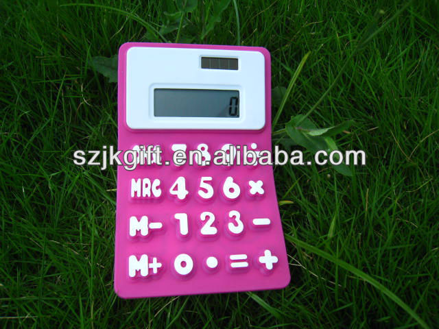 8 digit electronic desk silicone calculator