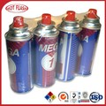 Ultra refined tin can butane lighter fluid refill supplier 400ml