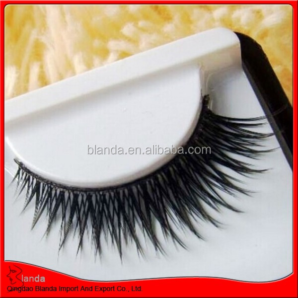 wholesale synthetic hair fake lash, synthetic hair extensions