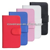 Luxury Wallet Stand PU Leather Case For Samsung Galaxy S2 i9100 SII S II Phone Bag Cover with Card Holder