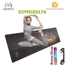 Heat Sublimation Printed Microfiber Yoga Mat - Machine washable