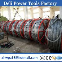 2 Strands Anti-twisting Galvanized Hexagonal Wire Rope