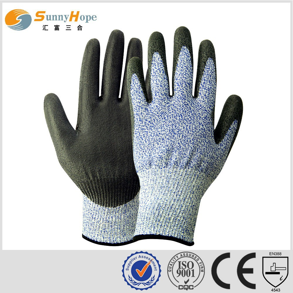 SUNNYHOPE HDPE cut resistant gloves