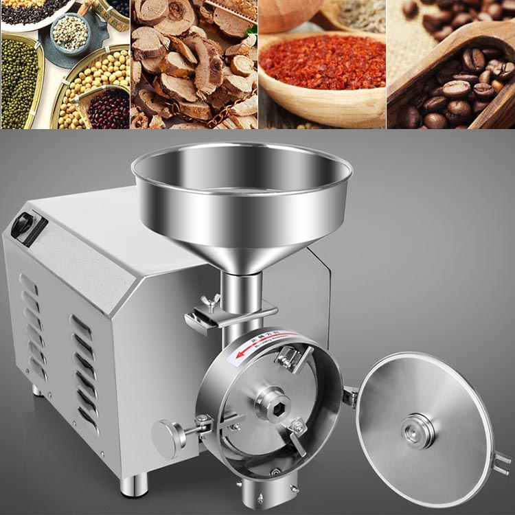 Commercial electric coffee grinder corn grinder machine