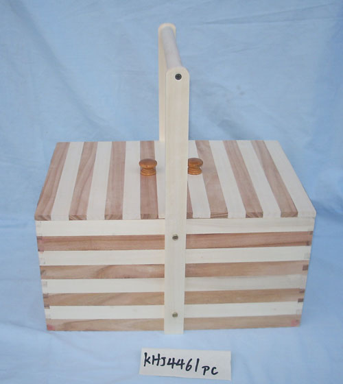 packaging Use and Accept Custom Order wooden girls sewing box /wooden sewing box