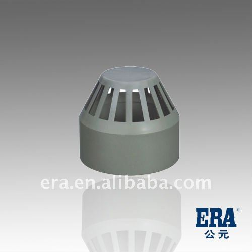 ERA BS /DN standard PVC Drainage Pipe Fittings Vent Cap