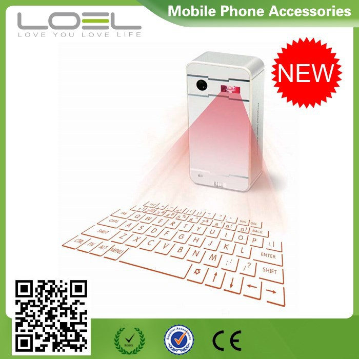 2015 Cheap Laser Projection Keyboard Mouse for Android Phone, Laptop, Tablet PC