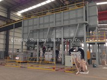 Lost foam molding and sand recycling machine for casting