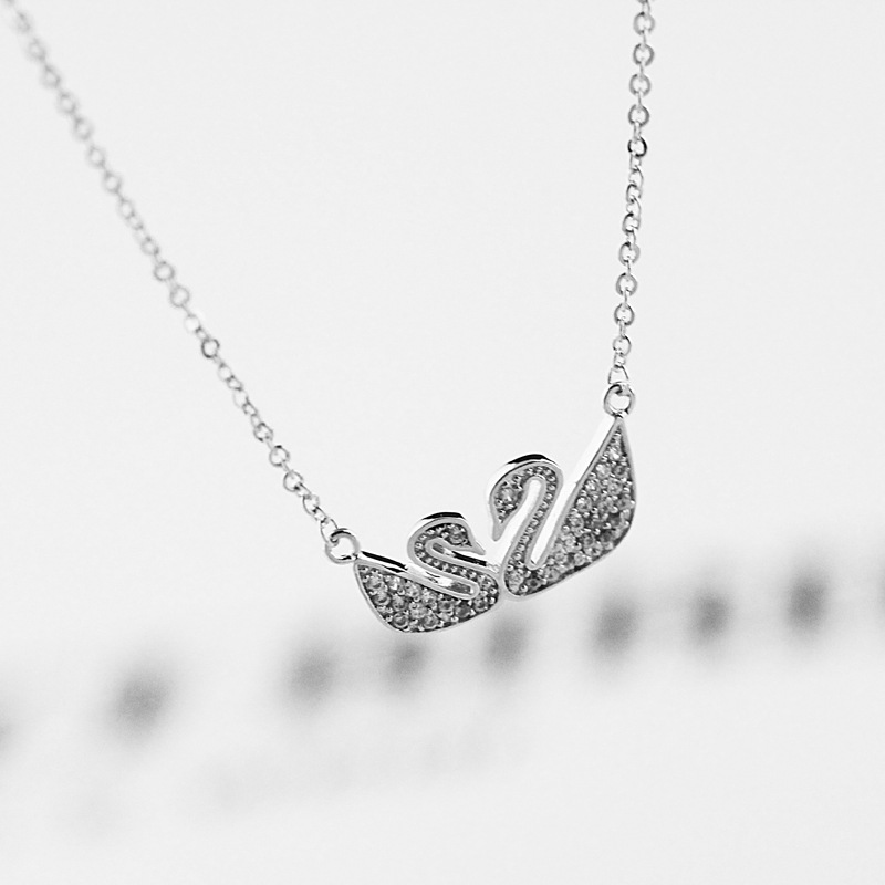 L830044 fashion jewelry gold chain necklace designs swan shape swarna christmas lights necklace mahal jewellers necklace wedding