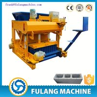 FL6-30 moving hollow block mould/ concrete block south africa/ automatic flyash brick making machine