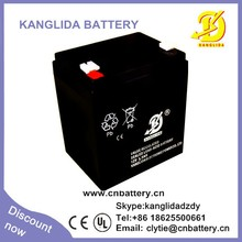 12v 5.5ah free maintenance deep cycle vrla 5.5 ah battery