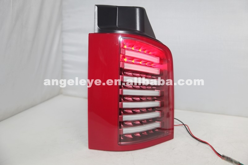 For Volkswagen T5 Caravelle Multivan LED Tail Light Red White Color 2003-2015 JY