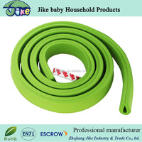 JIKE baby hot selling soft baby safety rubber table edge protector