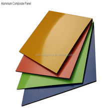 building construction materials with cheap price list of adhesive film aluminum composite panel from Linyi
