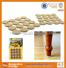 chair leg floor protector cork pads / floor protectors for furniture legs with cork