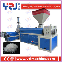 plastic film agglomerator/granulator/recycling machine