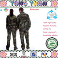 Waterproof Camouflage rain jackets