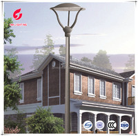 BV FCC ISO LED garden lights yard lamp outdoor solar street light