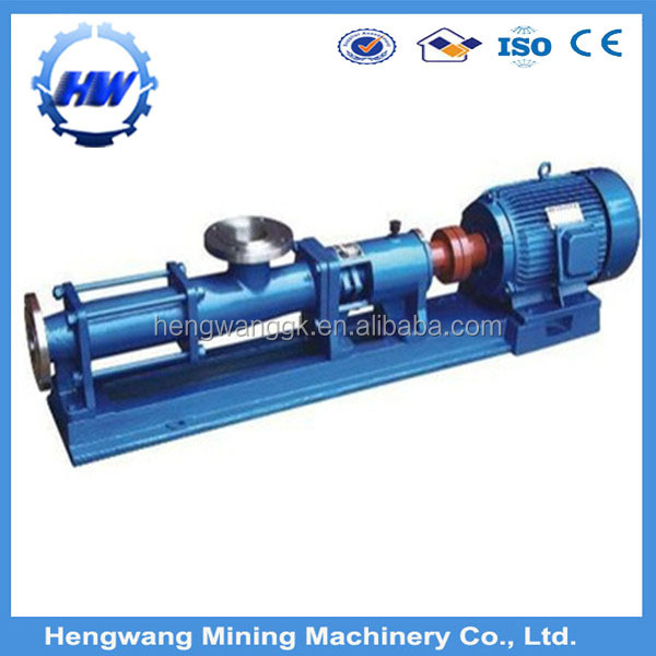 G type progressive cavity screw pump/Heavy fuel oil transfer pump