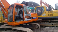 Original Korea Doosan DH220 excavator in shanghai with good engine and undercarriage,no oil leaking,welcome to check,pick u