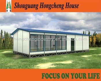 Strong and cheap modular cement prefabricated villa