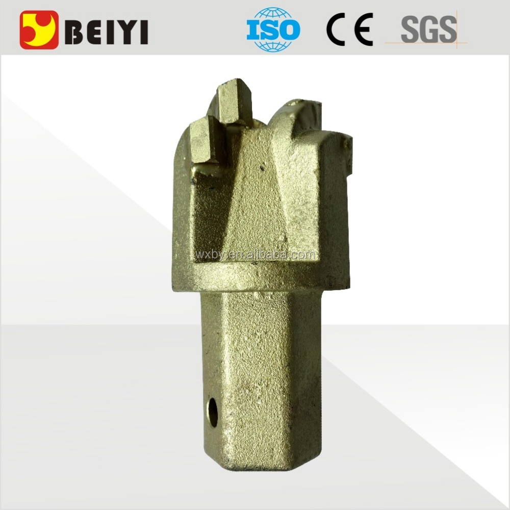 Earth auger spare parts mining drill head