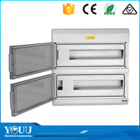 YOUU Business For Sale 24 Ways Double Waterproof Plastic Box Enclosure Electronic Mcb Distribution Box