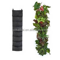 plant pot VERTICAL WALL GARDEN BAGS grow bags