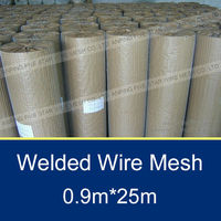 1x1 inch galvanised pet cage welded wire mesh