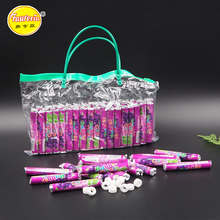 Grapes Flavor Bubble Circle Roll Press Candy