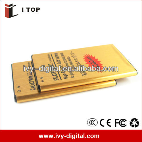 New released 4200mAh Galaxy NOTE 3 mobile phone battery N9100 N9000