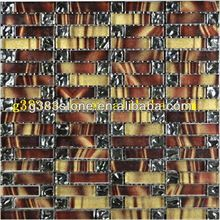 iridescent pearl glass mosaic