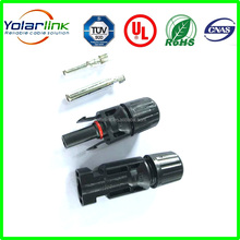 MC4 T- Branch 4 in 1 IP67 male and female DC connector MC4 for solar panels