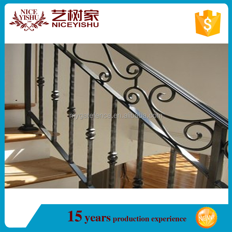 stair railings design/lowes wrought iron railings/used wrought iron railing parts for sale
