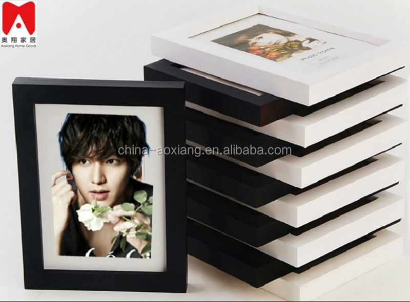 Colourful Plastic Picture Frame 4x6 5x7 6x8 8x10 voice recording digital photo frame