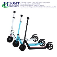HTOMT cheap two wheel self balancing electric scooter 250W citycoco scooter