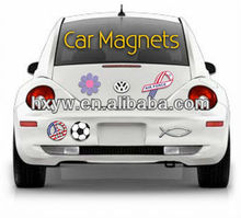 car magnet decal with different thickness