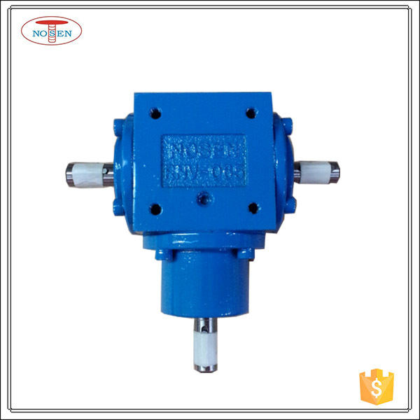 Small 1:1 Ratio 90 Degree Transmission Gearboxes gearbox as testing machine