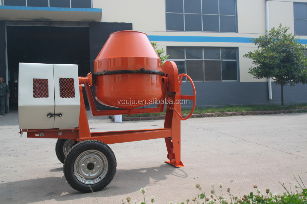 Towable concrete mixer for sale for brick factory buy for Cement mixer motor for sale