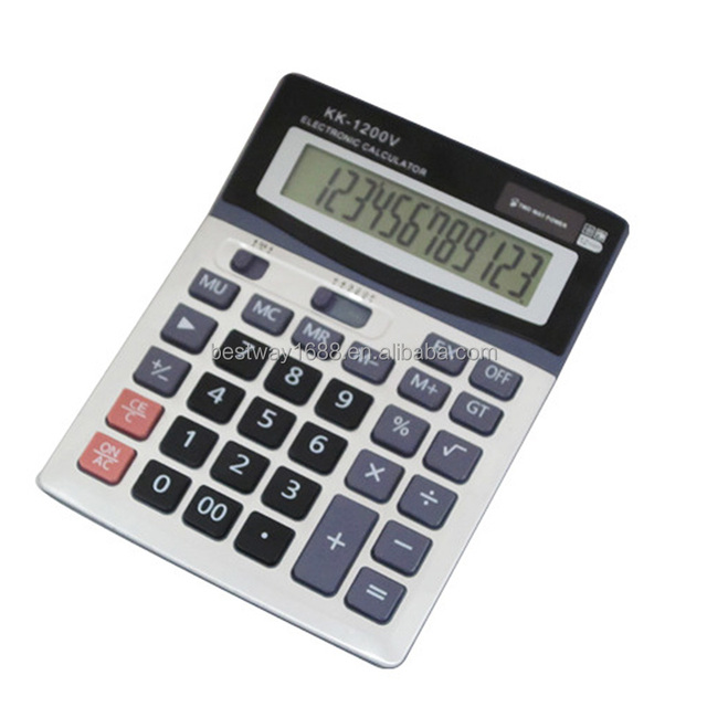 CE ROHS digital lcd electronic calculator with good quality