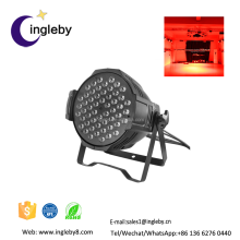China stage light factory price dmx Intensive brightness 54x3w rgbw led par 64