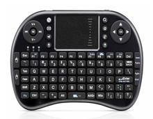 Tops Wireless Keyboard 2.4GHz Portable Mini Wireless Keyboard with Touchpad Mouse for Android TV BOX,PC,PAD,XBOX 360,PS3 HTPC