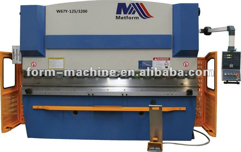 series WC67K NC hydraulic press brake ( Economical NC Braker)
