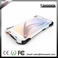 Aluminium metal case for Samsung S6 edge waterproofing shockproofing case