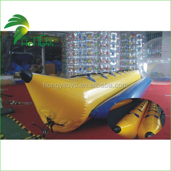 Hot sale inflatable fly fish banana boat inflatable adult for Fly fishing raft for sale