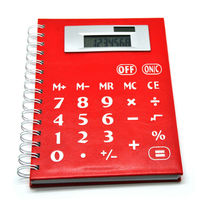 Jotter Calculator, Solar Panel Notebook Calculator, Exercise Book Calculator,